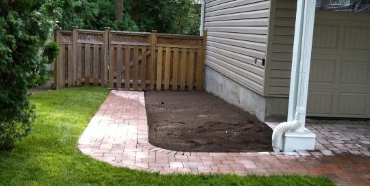 Walkway and Garden Construction