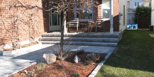 Signature Stone Construction - Walkways and Gardens